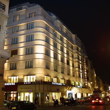 Hotel Castiglione - Façade de l'hôtel