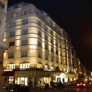 Hotel Castiglione - Hotel front view