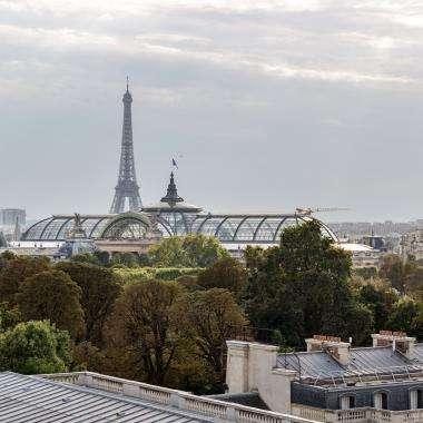 Hotel Castiglione - Terrasse - Tour Eiffel